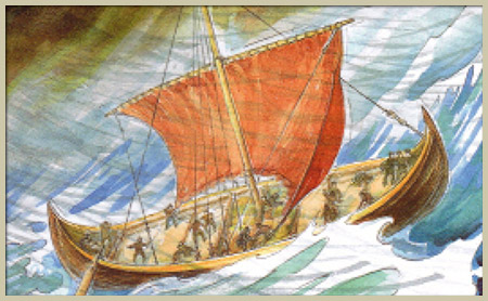 Book: Viking Blood - New Life - Fourth book in the series